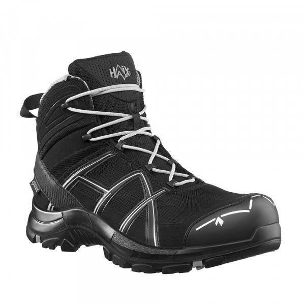 HAIX Black Eagle Safety 40 Mid black/silver