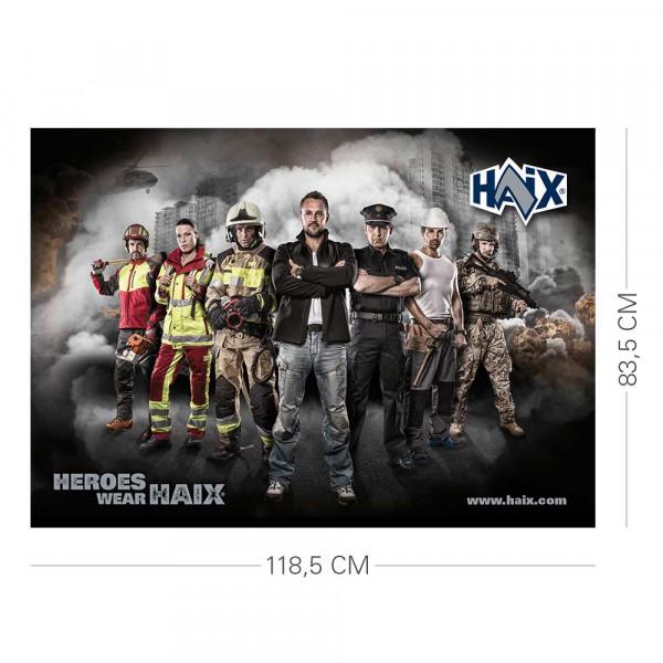HAIX Heroes Poster 118,5 x 83,5 cm